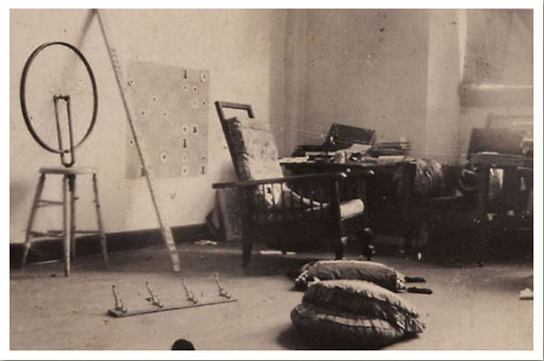 Duchamp-Studio1916-1917 600